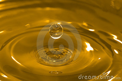 Gold Drop-of-Water