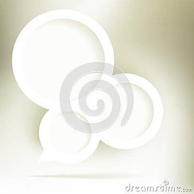 Free Gold Elegant Speech Bubble. + EPS8 Stock Photos - 28876353