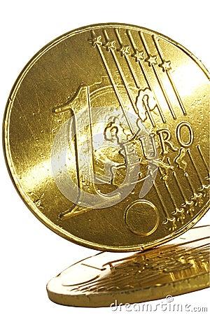 Gold Euro Coin