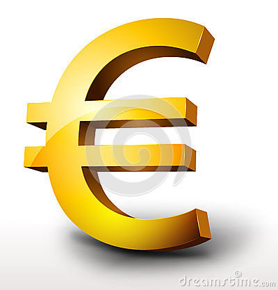 Gold Euro Currency