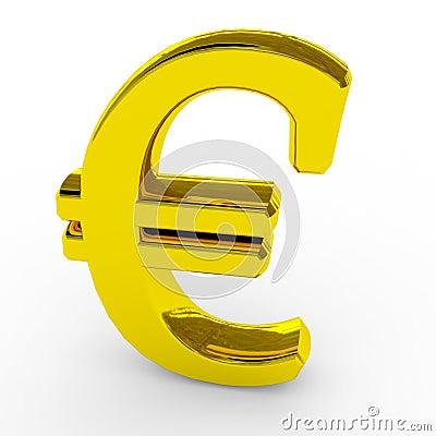 Gold euro sing.