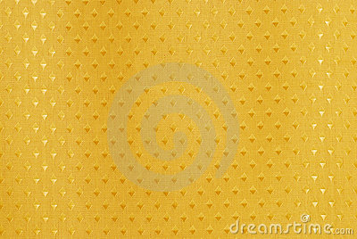 Gold fabric with diamond shapes
