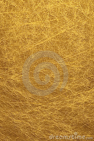 Gold Fibrous Background