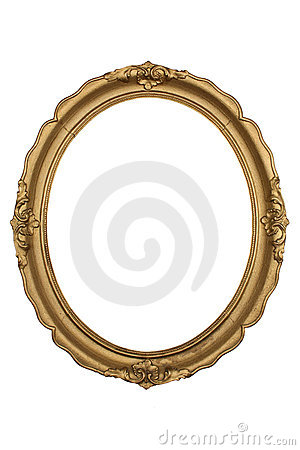 Free Gold Frame Stock Image - 12967681