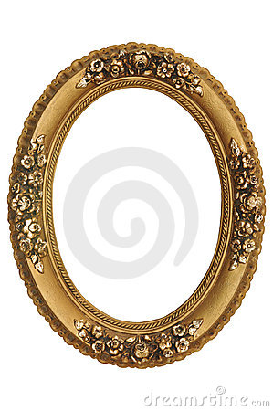 Free Gold Frame Royalty Free Stock Photography - 17431947