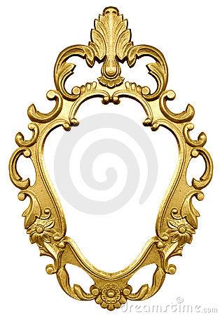 Free Gold Frame Royalty Free Stock Photo - 4013705