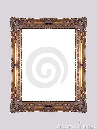 Free Gold Frame Royalty Free Stock Photos - 557408