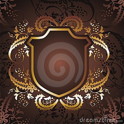 Free Gold Frame Flower 03 Stock Photography - 13527302