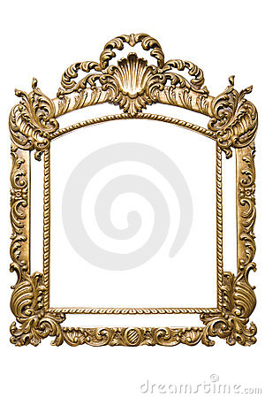 Gold Frame (included path)