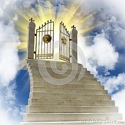 Gold gates