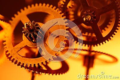 Gold gears