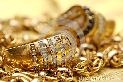 Gold and gems