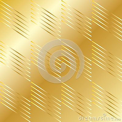 Gold geometric pattern