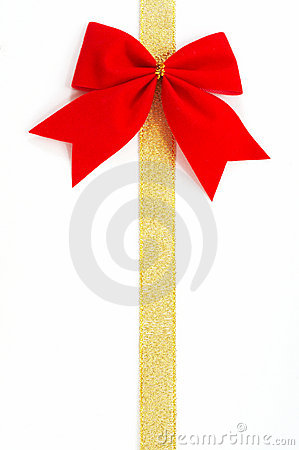 Free Gold Gift Wrap Royalty Free Stock Photography - 1545497