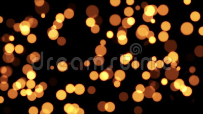 Gold Glitter Dots Background stock footage