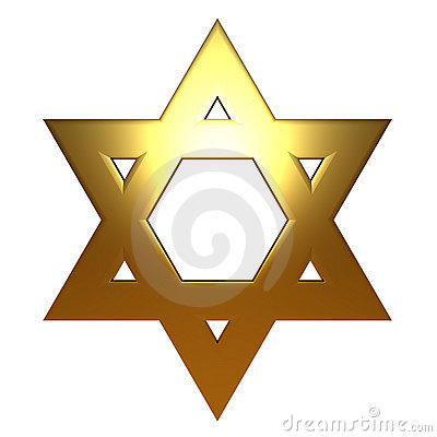 gold star of david. GOLD GOLDEN JEWISH STAR OF