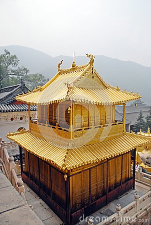 The gold house in china