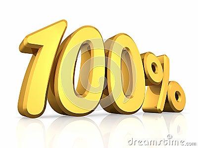 Gold Hundred Percent