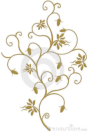 Free GOLD IVY IS FRAME, DESIGN LOVE Royalty Free Stock Images - 2033679