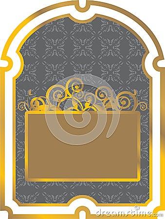 Gold label