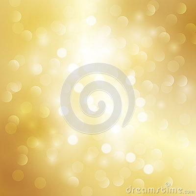 Gold light background