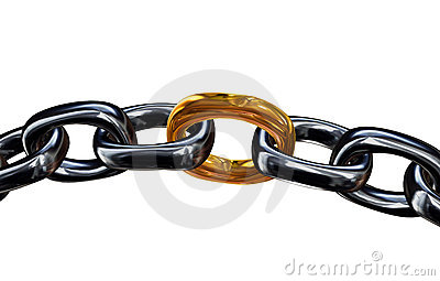 Gold Link In the Chain