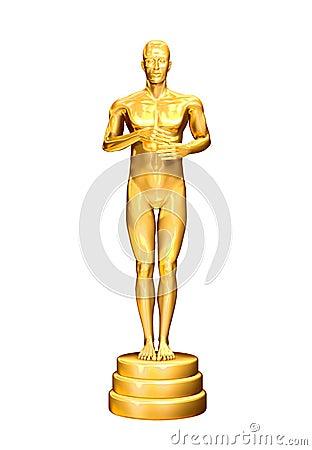 Free Gold Man Royalty Free Stock Photos - 12961388
