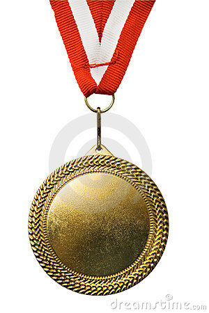Free Gold Medal Royalty Free Stock Photography - 11436697