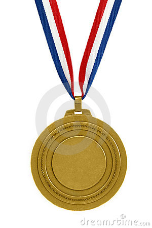 Free Gold Medal Stock Image - 1510521