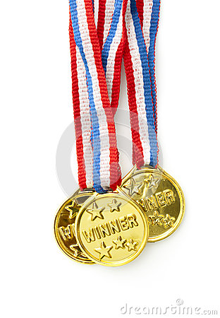 Free Gold Medal Royalty Free Stock Photo - 25758275