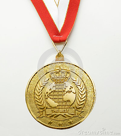 Free Gold Medal Royalty Free Stock Photos - 41215718