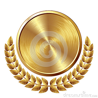 Free Gold Medal Royalty Free Stock Photos - 45932938