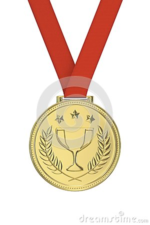 Free Gold Medal Royalty Free Stock Photography - 56212927