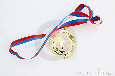 Gold medal in fresh snow