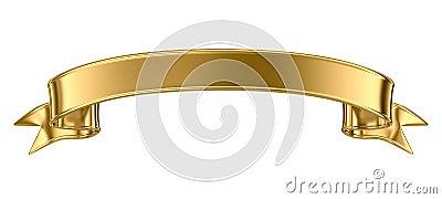 Gold Metal Banner