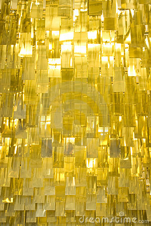 Gold Metal Fins