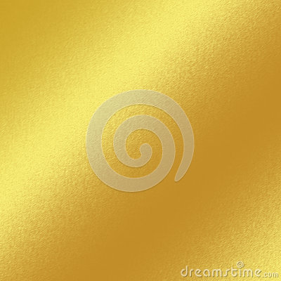 Gold metal texture background with oblique line of light