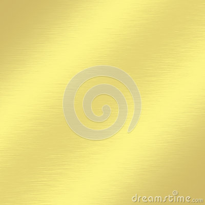 Gold metal texture background with subtle oblique line of light decorative greeting card design