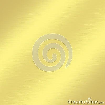 Gold metal texture background with subtle oblique line of light decorative greeting card design
