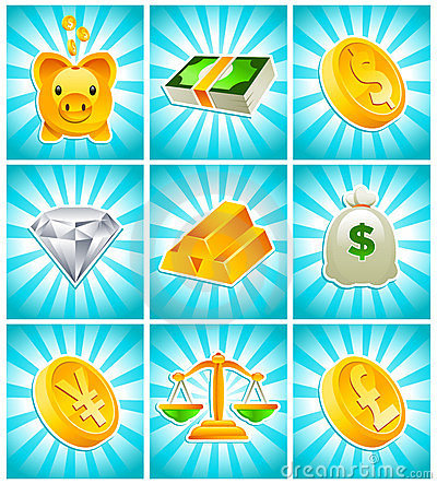 Gold Money Icons