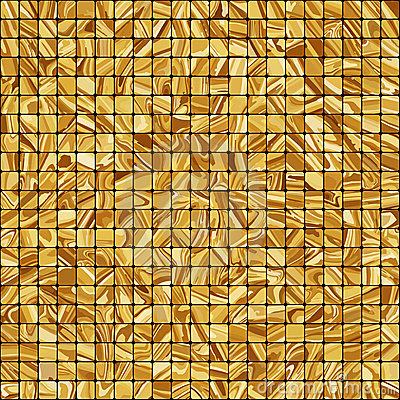 Gold Mosaic Background. EPS 8 Stock Image - Image: 21375231