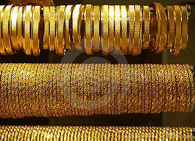 Gold Necklaces and bracelets