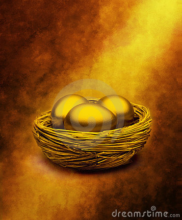 Gold Nest Eggs Superannuation