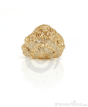 Free Gold Nugget Royalty Free Stock Photography - 7112397