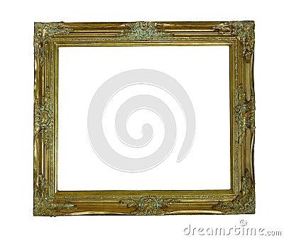 Gold old frame