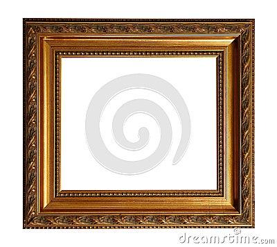 Gold Old Square Frame