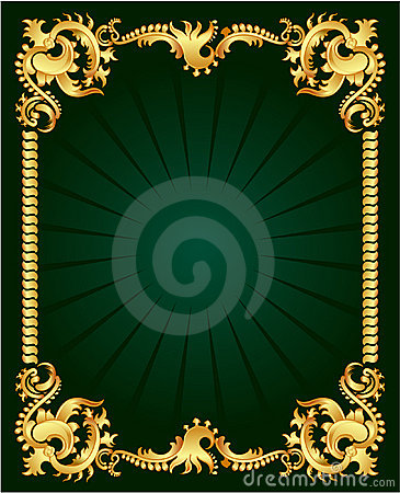 Free Gold Ornament Royalty Free Stock Photos - 4233618