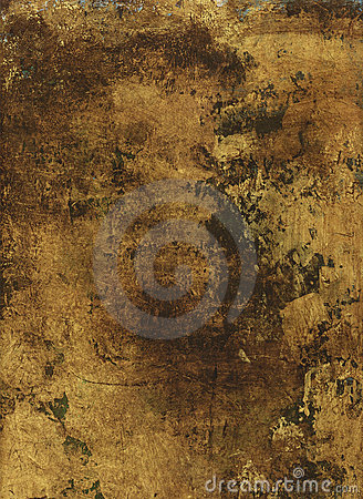 Free Gold Painted Paper Stock Images - 3173914