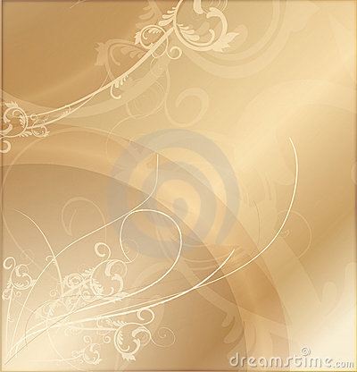 Gold Patterned Background