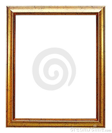 Free Gold Picture Frame Stock Image - 16985661
